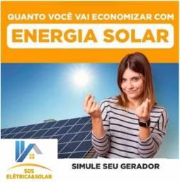 Projeto em Geração de Energia Solar