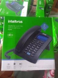 Telefones fixo interbras tc 60 ID novos