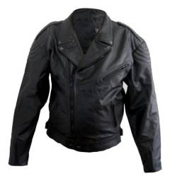 Jaqueta de Couro de Motociclista - Nº 52