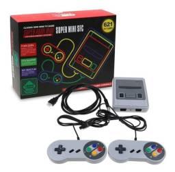 Video Game Retro Super Mini 620 Jogos Bivolt 2 Controles Envio Imediato