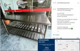 Bancada Gourmet Profissional Aço Inox 304 *Fabricante Ideal Inox