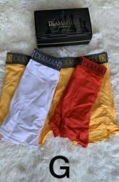 Título do anúncio: Kit de cuecas , diamantes, 1 kit de calcinhas,  no precinho.
