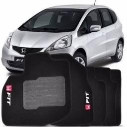 Título do anúncio: Tapete Carpete Honda Fit 2009 Até 2014 4 Peças