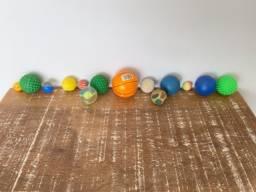 Conjunto de bolas diversas