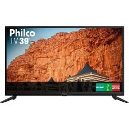 """TV led 39"""" Philco hd com Conversor Digital Integrado 2 hdmi 1 USB Recepção Digital"""