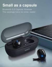 Fone bluetooth Airdots com touch de digital