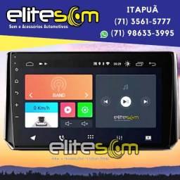 Central Multimídia Corolla 2020 Android Tela 10 pol. instalada na Elite Som