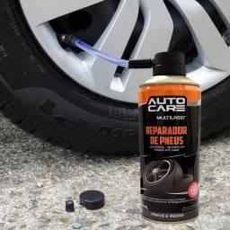 Spray Reparador Instantâneo De Furo Pneu Carro/Bike/Moto - Original Lacrado