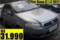 Título do anúncio: Fiat Siena El 1.4 2012