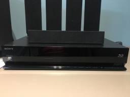 Home Theater Sony BDV-E370 /Blu Ray/ 3D/ USB/ HDMI/ 850W RMS/ 5.1 canais