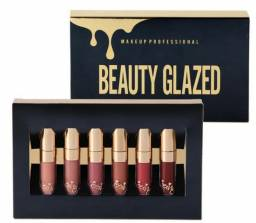 Lip Gloss Tom Batom Matte Beauty Glazed Importado