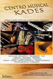 Aula de música - Todos os instrumentos