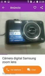 Câmera digital zoom leans Samsung