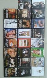 23 DVDs originais em perfeito estado (não são de locadora)