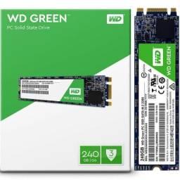 Ssd M.2 120GB * 240GB * Western Digital Green* 3 Anos Garantia*Nota Fiscal (LOJA)
