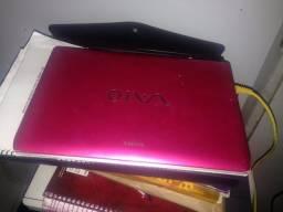 Troco Notebook sony vaio em TV