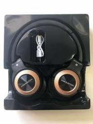 Headphone Estereo Sem Fio Wireless Hmaston
