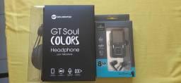 Mp4 + Headphone Goldentec