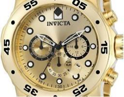 92c8f81cae4 Lindo relógio Invicta Masculino  Pro Diver  Quartzo Banhado ...