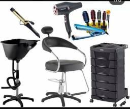 Produtos e acessórios para Salão de Beleza