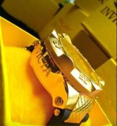 e346ede495e Invicta Subaqua Noma 3 Gold-tone Invicta 5514. Relógio Masculino ...