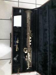 Saxofone Soprano Dixon (Com Revisão completa!!!) + CASE