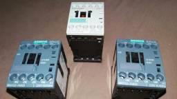 Contatora auxiliar Siemens 150 às tres