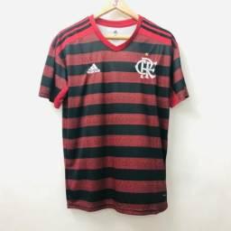 Camisa do Flamengo Preto e Vermelho - Pronta Entrega