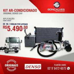 Kit ar-condicionado original denso ford cargo 24v