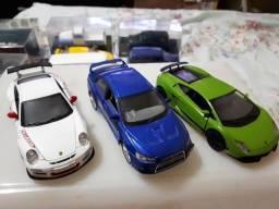 Kit 03 Miniatura Porsche/ Lamborgne / Lancer