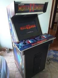 Usado, Fliperama tema Mortal Kombat II 280 jogos com ficheiro comprar usado  Marília