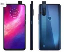 Motorola one hyper 128GB azul 4g 4gb ram 6,5? câm. dupla + câm selfie 32mp