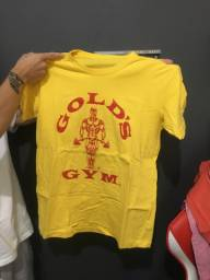 Camiseta Gold's Gym - Academia Treino
