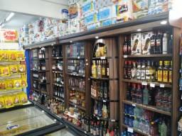 Adega para bebidas Cristal Aço 2,72m Nova Frete Grátis