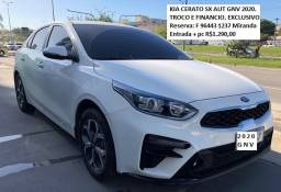 Kia Cerato SX 2020 Aut + GNV 10000km Miranda