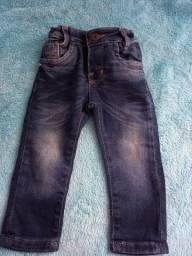 Título do anúncio: Calça jeans menino, tam G,