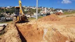 Locação de retro escavadeira