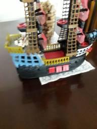 Barco Pirata Fischer Price Ótimo Estado