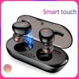 Y30 TWS Fone de ouvido sem fio Bluetooth (Controle de toque, Fone de ouvido Esportivo)