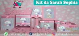Kit higiene em mdf personalizado