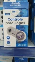 Controle USB Super Nintendo