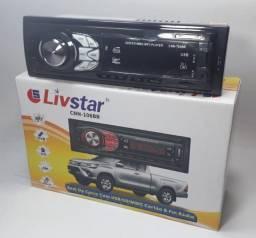 Título do anúncio: som automotivo com usb/sd/mmc cartão & radio fm. Bluetooth