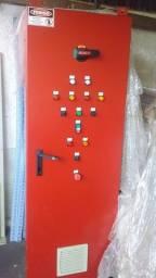 Quadro de comando elétrico soft starter 75 cv