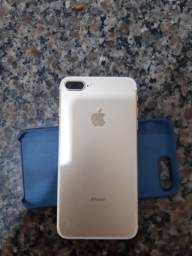 Título do anúncio: Iphone 7 plus vendo ou troco por inferior mais volta