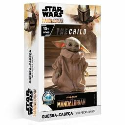Quebra Cabeça Baby Yoda Star Wars 500 Peças Toyster Child