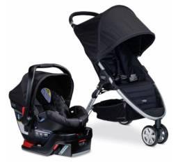 Carrinho e Bebe Conforto B-Agile Britax Travel System