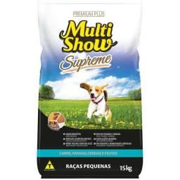 Ração Premium MultiShow Para Cães Adultos Raças Pequenas - 15Kg