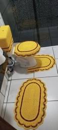 Jogo de banheiro em croxe