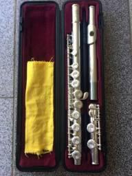 Flauta Transversal Yamaha F100sii (Estojo original)
