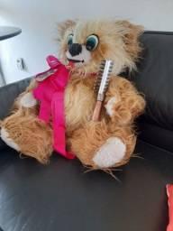 Título do anúncio: Ursinho de pelúcia, lindo para decoração, grande 60 cm